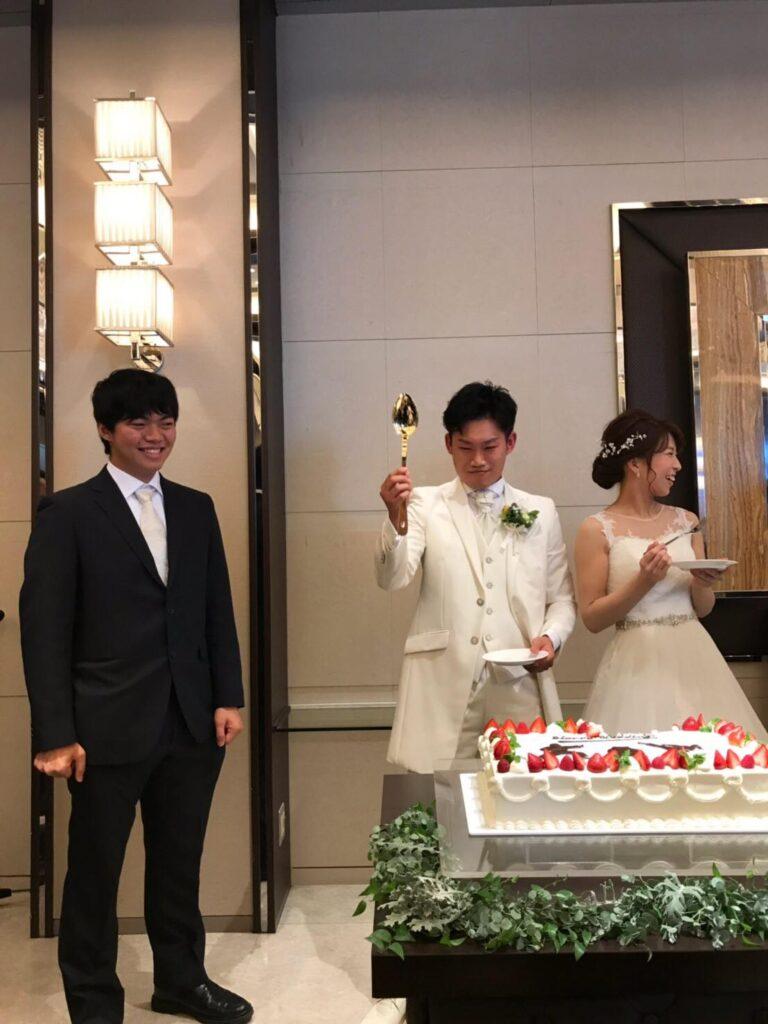 結婚式 ケーキバイト